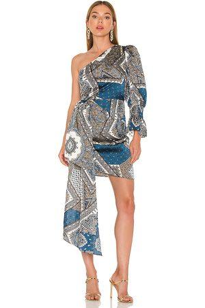 ELLIATT Wanderlust Dress in Blue.