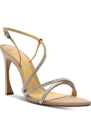 ALEXANDRE BIRMAN Women's Alana Embellished Strappy High Heel Sandals