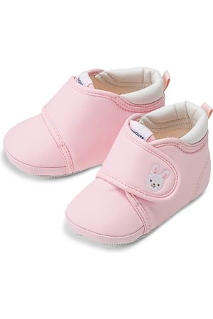 Miki House Girls' My Pre Walking Bunny Shoes - Baby, Walker