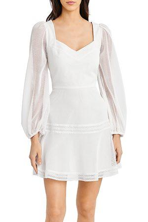 BCBG Max Azria Mesh Mini Dress