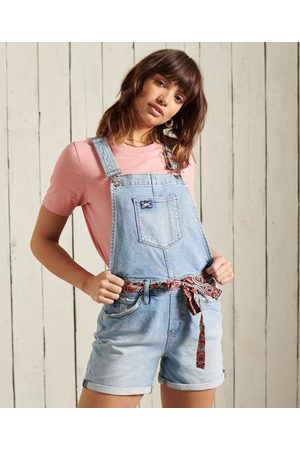 Superdry Women Dungarees - Utility Dungaree shorts