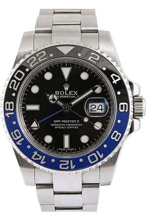 Rolex Stainless Steel GMT Master II Men's Wristwatch 40 MM