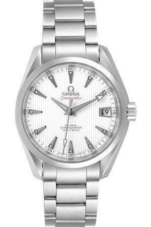 Omega Diamonds Stainless Steel Seamaster Aqua Terra 231.10.39.21.54.001 Men's Wristwatch 38.5 MM