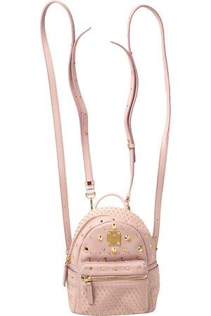 MCM Baby Leather X Mini Studded Stark-Bebe Boo Backpack