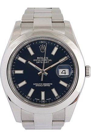 Rolex Stainless Steel Datejust II Men's Wristwatch 41 MM