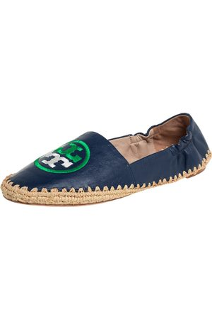 Tory Burch Leather Espadrille Flats Size 36