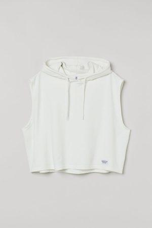 H&M Women Tank Tops - Sleeveless Hoodie