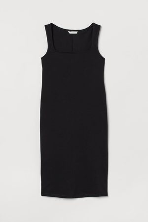 H&M MAMA Fitted Cotton Dress