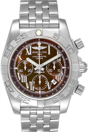 Breitling Bronze Stainless Steel Chronomat AB0110 Men's Wristwatch 43.5 MM