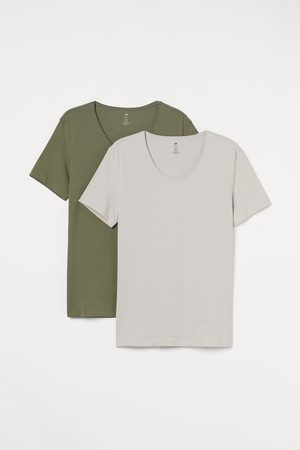 H&M 2-pack Slim Fit T-shirts
