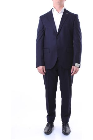 Lubiam Single-breasted suits Men Dark