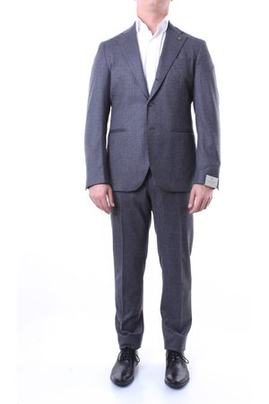 Lubiam Single-breasted suits Men Grey