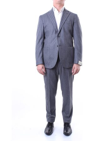 Lubiam Single-breasted suits Men pinstripe