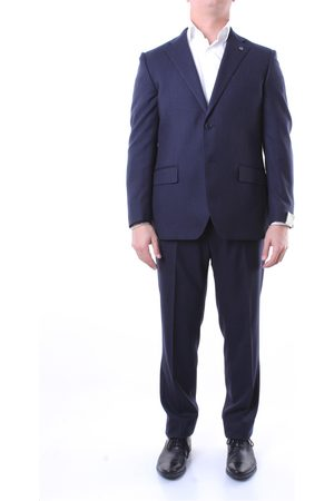 Lubiam Single-breasted suits Men Micro
