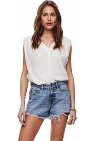 ONLY Women Short Sleeve - Roberta Short Sleeve T-shirt 34 Cloud Dancer