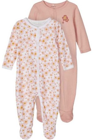 NAME IT Night Suit W/f 2 Pack 56 cm Silver Pink