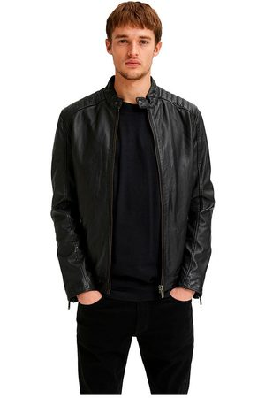 SELECTED Iconic Racer Leather Jacket L