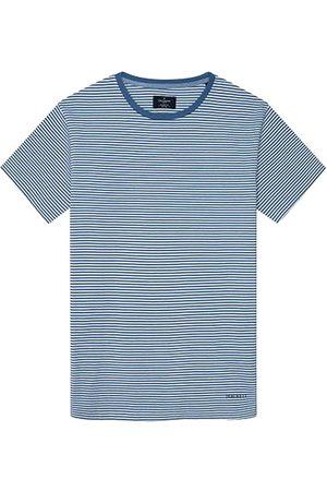 Hackett Boat Stripe Short Sleeve T-shirt L Marine
