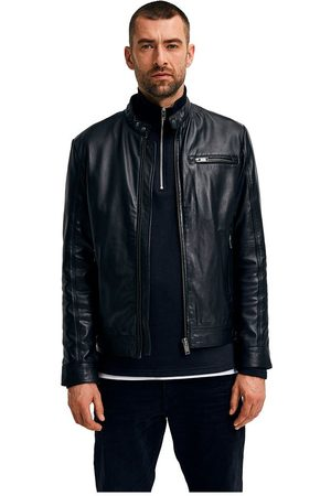 SELECTED Iconic Classic Leather Jacket L
