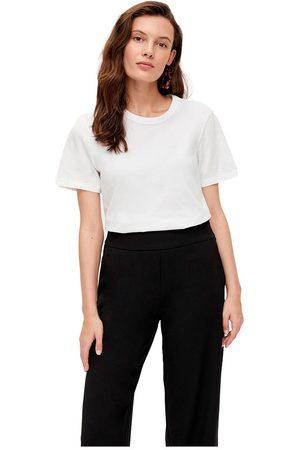 YAS Sarita Short Sleeve T-shirt L Bright