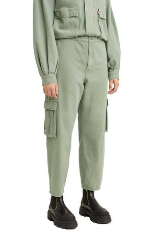 Levi's Women Cargo Pants - Loose Cargo Pants 24 Soft Surplus Sea