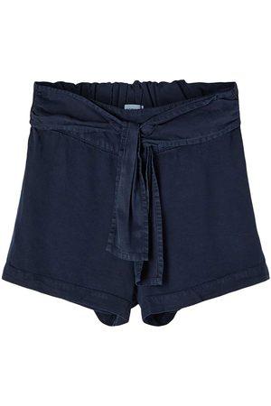 NAME IT Girls Pants - Feefee Short Pants 122 cm Dark Sapphire