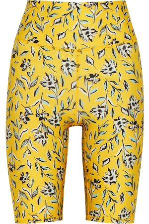Alice + Olivia Aaron floral-print cycling shorts