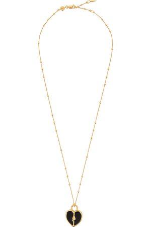 Missoma Heart Locket 18kt gold-plated necklace