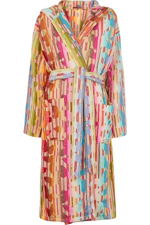 Missoni Josephine striped terrycloth robe