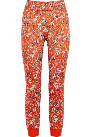 ALICE+OLIVIA Tokyo floral-print stretch-jersey sweatpants