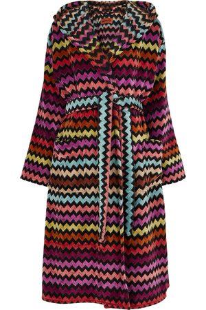 Missoni Warner zigzag cotton-terry robe