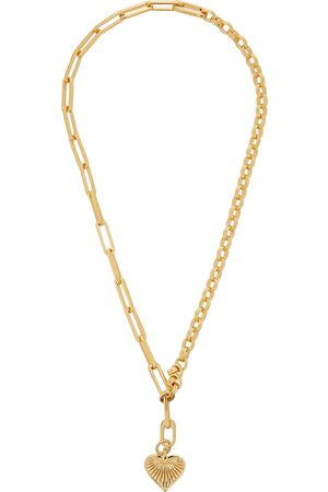 Missoma Deconstructed Axiom 18kt -plated necklace