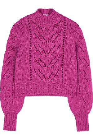 RED Valentino Fuschia knitted jumper