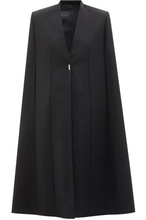 Givenchy Wool And Mohair-blend Twill Cape - Womens