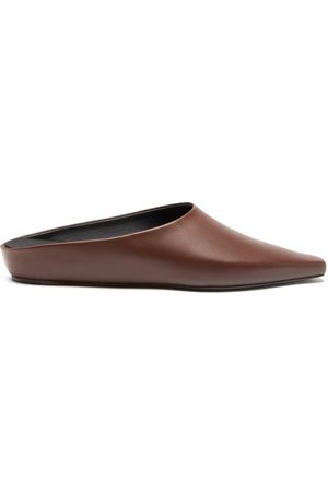 Neous Alba Point-toe Leather Mules - Womens