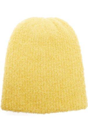 THE ELDER STATESMAN Teddy Watchman Cashmere Beanie Hat - Womens