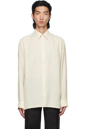 Fendi Men Shirts - Off-White Tech Shirt