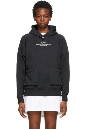 Nike Black Sportswear Swoosh Hoodie