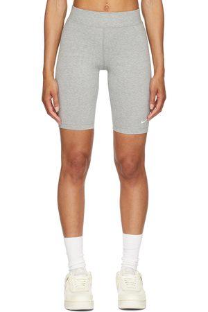 Nike Grey Sportswear Essential Bike Shorts