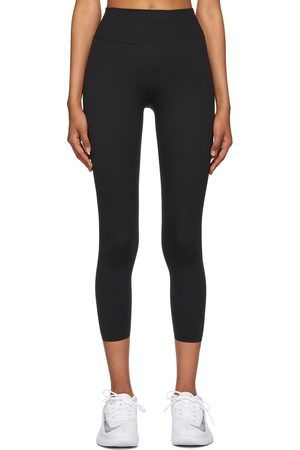 Nike Women Sports Leggings - Black One Luxe Sport Leggings