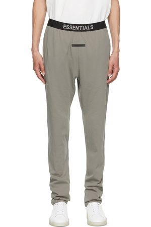 Essentials Grey Logo Lounge Pants