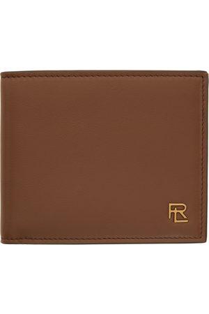 Ralph Lauren Men Wallets - Brown Calfskin Wallet
