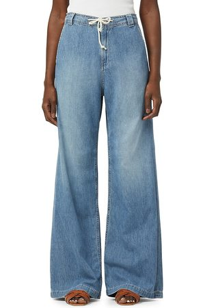Hudson Women's Wide-Leg Denim Trousers - Drift Away - Size 27