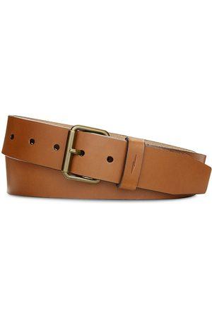 SHINOLA Men's Rambler Leather Belt - Tan - Size 44