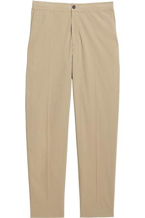 THEORY Men's Mayer Slub Pants - Stone - Size 34