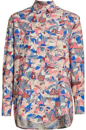 CHUFY Women's x André Panarea Shirt - Panarea - Size Medium