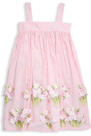 Isabel Garreton Little Girl's & Girl's Appliqué Sundress - - Size 5