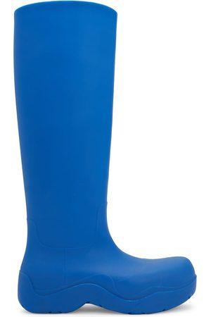 Bottega Veneta Men's Puddle Tall Boots - Cobalt - Size 11