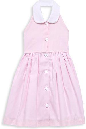 Isabel Garreton Little Girl's & Girl's Piqué Halter Sundress - - Size 6