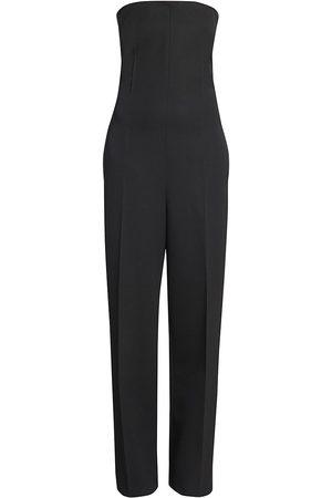 Bottega Veneta Women's Sartorial Grain De Poudre Jumpsuit - - Size 2